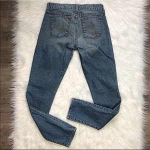 J Crew toothpick bliss wash skinny jeans size 27